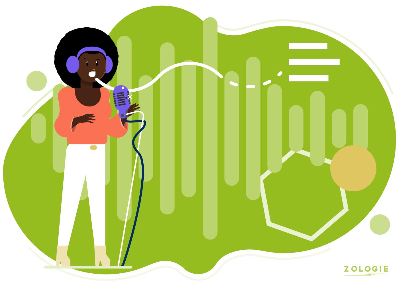 Explainer video voice-over recording