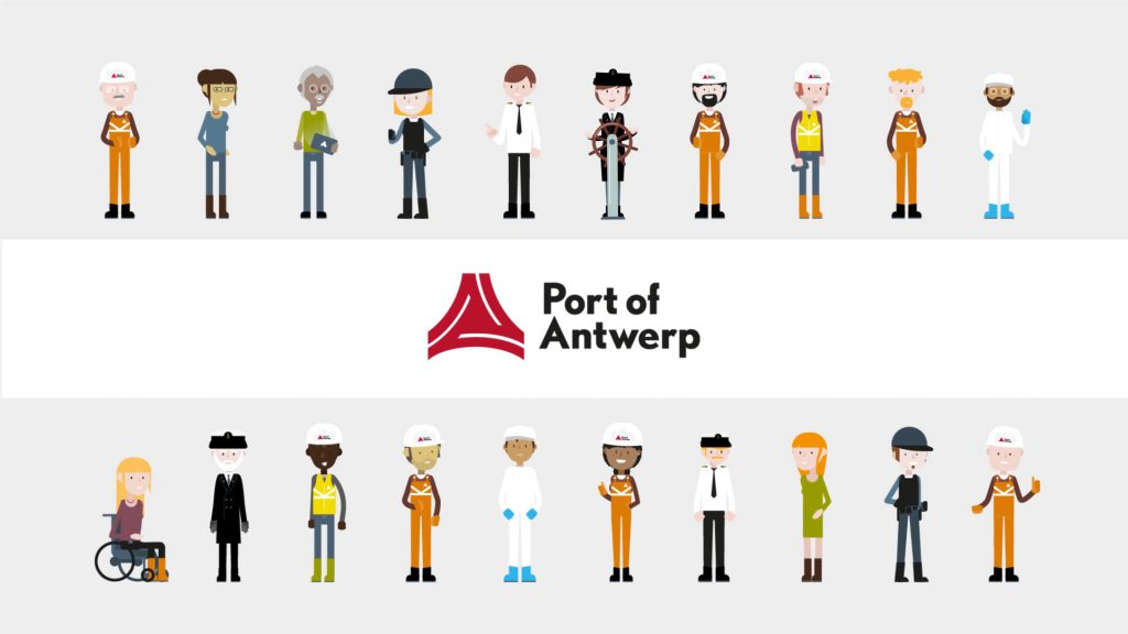 The people of Port of Antwerp brand video preview