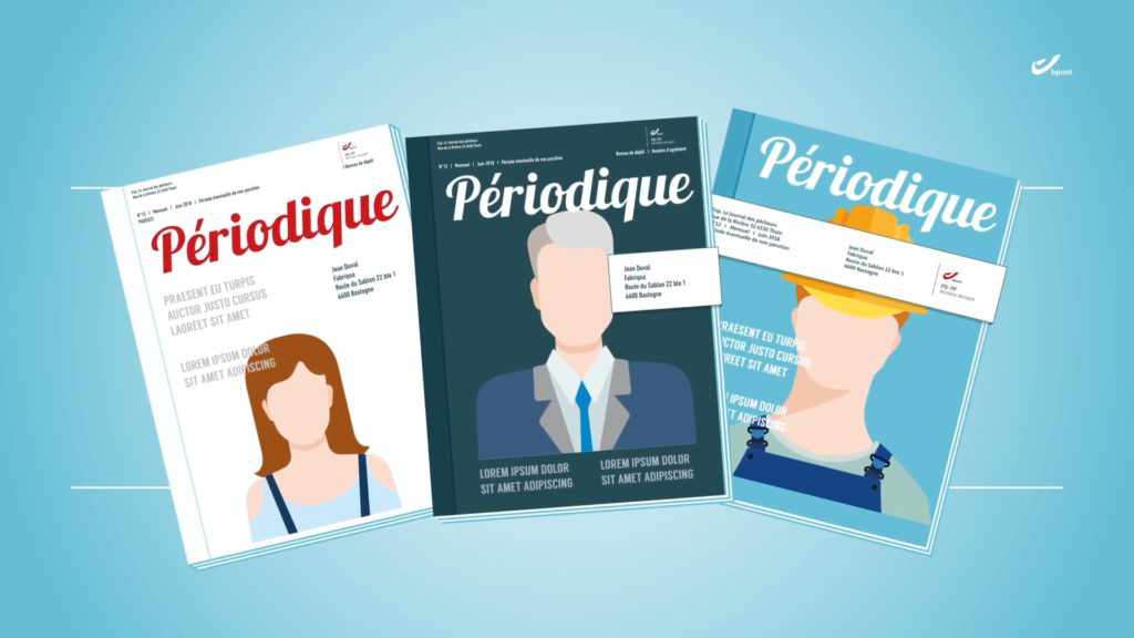 bpost, how to send a periodical - Preview