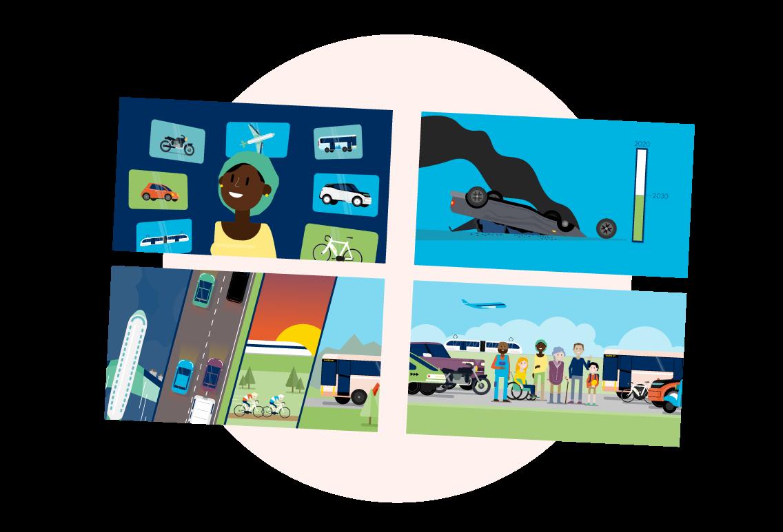 Illustrations Manifesto for Mobility